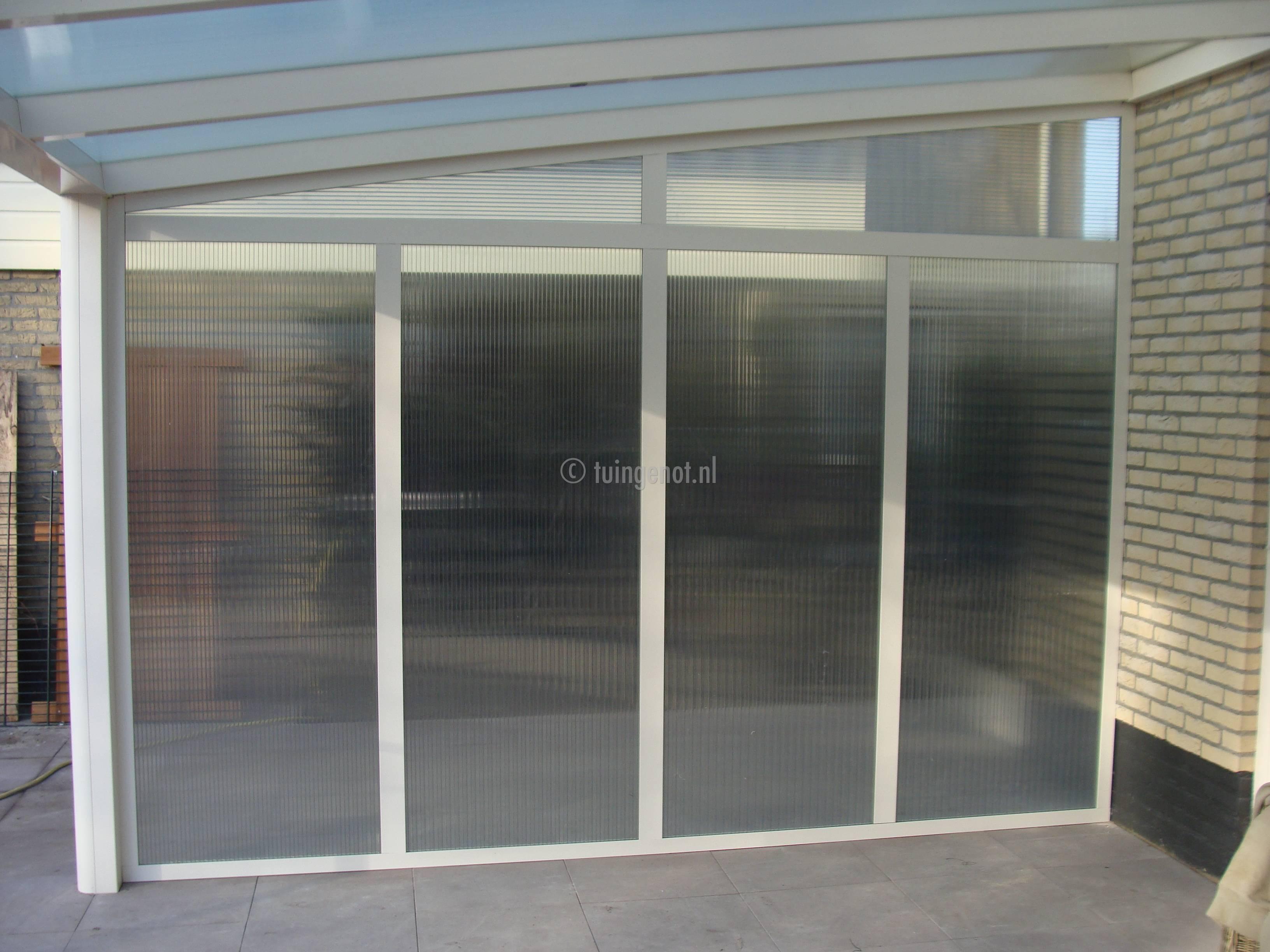 Wanden Voor Veranda : Tuingenot: 63. glazen schuifpuien